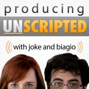 Producing Unscripted Podcast with Joke and Biagio - Today: How to Turn a Book - Or Any Property - Into a TV Show.