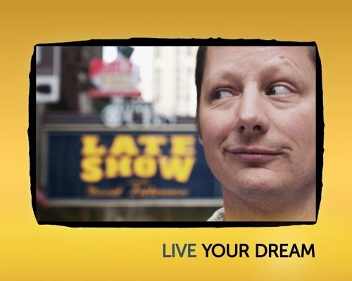 Dying to do Letterman, directed by Joke and Biagio