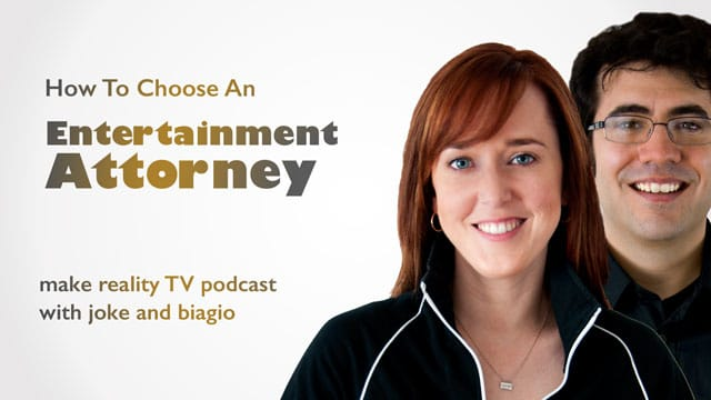 choosing an entertainment attorney