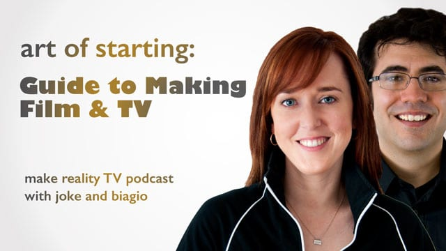 Art Of Starting - Make Film and TV from Joke and Biagio