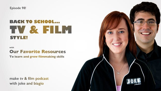 Back To School - TV & Film Style with Joke and Biagio