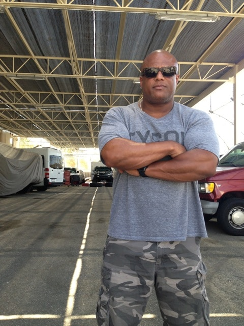 Marc Jackson former cop new TV producer