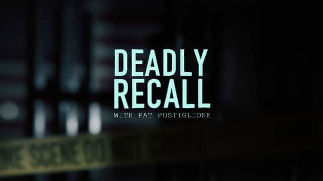 Deadly Recall from Joke and Biagio, starring Pat Postiglione. Wednesday nights on Investigation Discovery, and anytime on the IDGo app.