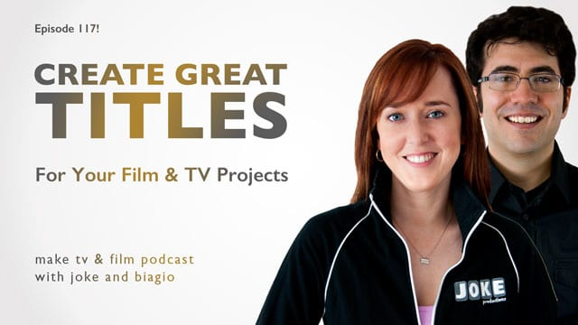 create great titles for your projects...tons of tips!