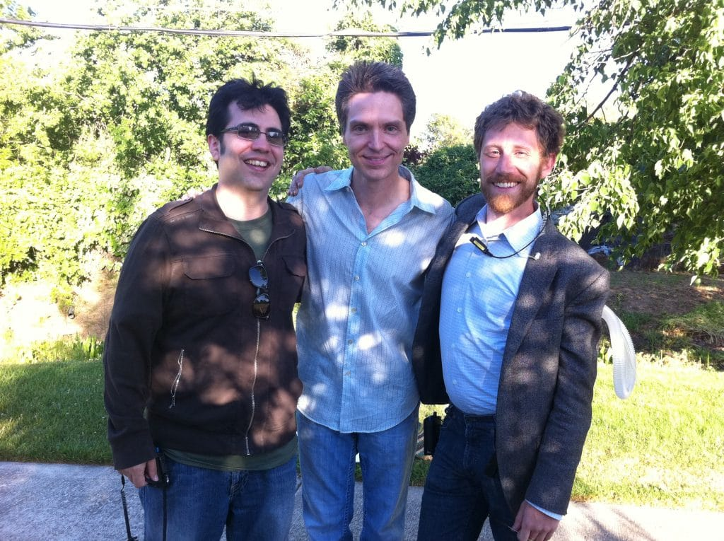 Biagio Messina, Richard Marx, and Daniel Strange.