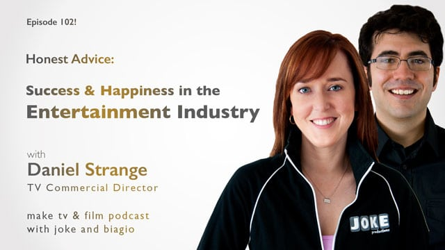 Daniel Strange on Success and Happiness in the Entertainment Industry